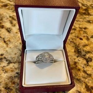 Helzberg Diamond Halo Wedding Ring